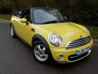 2010 MINI CONVERTIBLE 1.6 COOPER D 2d 112 BHP £SOLD