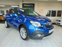 USED 2015 15 VAUXHALL MOKKA 1.6 SE S/S 5d 113 BHP FULL MOT + SERVICE HISTORY + DAB RADIO + BLUETOOTH + AIR CONDITIONING + ALLOYS + LOW MILES + HEATED FRONT SEATS + FULL LEATHER SEATS