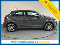 USED 2016 65 AUDI A1 1.4 SPORTBACK TFSI SPORT 5d AUTO 123 BHP AUDI HISTORY - ONE OWNER - DAB - BLUETOOTH CONNECTIVITY - ISO FIX - CD PLAYER - PADDLE GEAR SHIFT