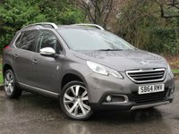 USED 2014 64 PEUGEOT 2008 1.6 E-HDI CROSSWAY 5d 92 BHP SATELLITE NAVIGATION, 1/2 LEATHER INTERIOR