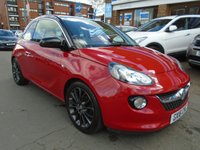 USED 2016 16 VAUXHALL ADAM 1.2 GLAM 3d 69 BHP 1 OWNER, SAT NAV, SUNROOF
