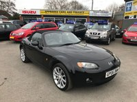 USED 2006 06 MAZDA MX-5 2.0 SPORT 2d 160 BHP CONVERTABLE ROOF IN METALLIC BLACK WITH 76,000 MILES APPROVED CARS ARE PLEASED TO OFFER THIS MAZDA MX-5 2.0 SPORT 2 DOOR 160 BHP CONVERTIBLE ROOF  IN METALLIC BLACK WITH FULL SERVICE HISTORY AT 18K, 25K, 32K, 38K, 44K, 57K, AND 68K, GOOD SPEC MULTI FUNCTION STEERING WHEEL, LEATHER SEATS AND HEATED SEATS. VERY SPORTY CAR PERFECT FOR THE SUMMER WITH THE CONVERTIBLE ROOF, IMMACULATE INSIDE AND OUT NOT ONE TO BE MISSED.