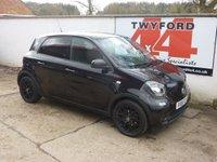 2016 SMART FORFOUR 0.9 EDITION BLACK T 5d AUTO 90 BHP £8995.00