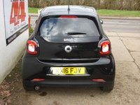 USED 2016 16 SMART FORFOUR 0.9 EDITION BLACK T 5d AUTO 90 BHP