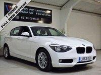 2013 BMW 1 SERIES 2.0 116D SE 5d AUTO 114 BHP £8880.00
