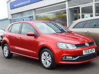 USED 2016 16 VOLKSWAGEN POLO 1.0 SE 5dr ...ONE OWNER. FULL VW SERVICE HISTORY. (£20 Road tax & 60mpg)