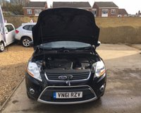 USED 2011 61 FORD KUGA 2.0 TITANIUM TDCI AWD 5d 163 BHP MOT 16th May 2020 (No Adv) + Full Ford Service History, 9 Stamps + DAB Radio + 3 Keys + Bluetooth + 6 Speed + Parking Sensors + Auto Lights + Auto Wipers + Privacy Glass + Roof Rails + Half Leather + Load Cover