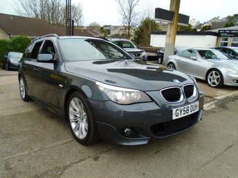 2008 BMW 5 SERIES 2.0 520D M SPORT TOURING 5d AUTO 175 BHP £5495.00