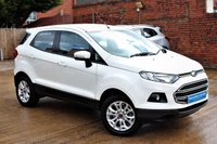 USED 2015 65 FORD ECOSPORT 1.5 ZETEC 5d 110 BHP ****  BEAUTIFUL CONDITION ****