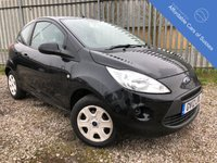 USED 2012 12 FORD KA 1.2 STUDIO 3d 69 BHP Only £30 Annual Road Tax + Low Insurance