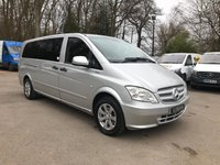 USED 2013 13 MERCEDES-BENZ VITO 2.1 113 CDI TRAVELINER AUTO NO VAT 9 SEATS Extra Long Wheel Base, Automatic, Air Conditioning