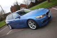 2014 BMW 3 SERIES 2.0 320D M SPORT TOURING 5d AUTO 181 BHP £12500.00