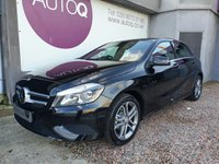 2015 MERCEDES-BENZ A CLASS 1.5 A180 CDI BLUEEFFICIENCY SPORT 5d 109 BHP £13950.00