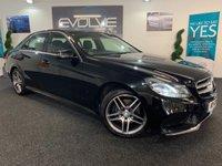 2014 MERCEDES-BENZ E-CLASS 2.1 E220 CDI AMG SPORT 4d AUTO 168 BHP £11599.00