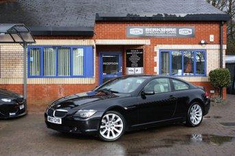 2007 BMW 6 SERIES 3.0 630I SPORT 2d 255 BHP £8000.00