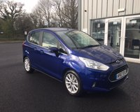 USED 2017 67 FORD B-MAX 1.0 TITANIUM NAVIGATOR ECOBOOST 100 BHP THIS VEHICLE IS AT SITE 1 - TO VIEW CALL US ON 01903 892224