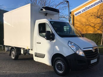 2015 VAUXHALL MOVANO 2.3 F3500 L3 10.6ft FRIDGE BOX VAN+STANDBY TRIPLE BARN DOORS CDTI 125