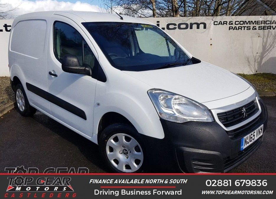 USED 2015 65 PEUGEOT PARTNER 850 L1 1.6 HDI 95 BHP **CHOOSE FROM OVER 90 VANS**