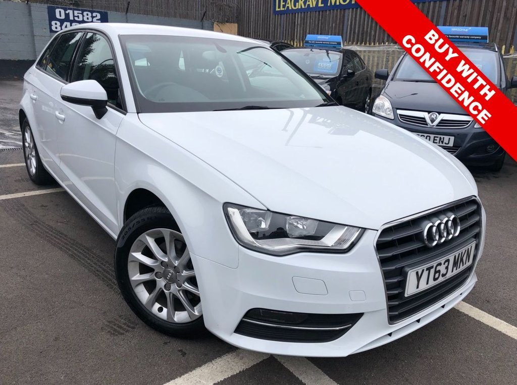 USED 2013 63 AUDI A3 1.6 TDI SE 5d 104 BHP ONE PREVIOUS OWNER + SAT NAV
