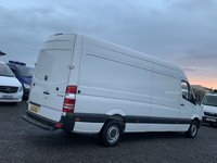 USED 2012 12 MERCEDES-BENZ SPRINTER 2.1 313 CDI LWB HIGH ROOF LWB, LAST OWNER SINCE 2013, TIDY VAN, PLY LINED, CRUISE,