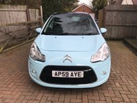 USED 2009 59 CITROEN C3 1.4 EXCLUSIVE 5d 96 BHP LEATHER TRIM + PAN ROOF + CLIMATE CONTROL