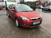 2009 FORD FOCUS 1.6 ZETEC 5d 100 BHP £SOLD