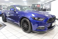 USED 2016 16 FORD MUSTANG 5.0 GT CUSTOM PACK 415 BHP ROUSH EXHAUST FFSH BLACK PK!