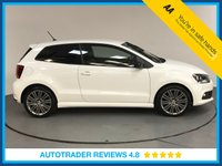 USED 2015 VOLKSWAGEN POLO 1.4 TSI BlueMotion Tech ACT BlueGT (s/s) 3dr AIR CON - BLUETOOTH - AUX/USB - CRUISE CONTROL - DAB RADIO - ISO FIX - TOUCH SCREEN DISPLAY