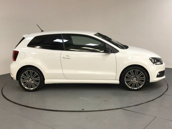 2015 VOLKSWAGEN POLO 1.4 TSI BlueMotion Tech ACT BlueGT (s/s) 3dr £9700.00