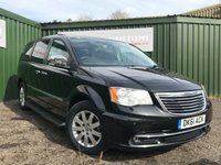 USED 2011 61 CHRYSLER GRAND VOYAGER 2.8 CRD LIMITED 5d AUTO 161 BHP