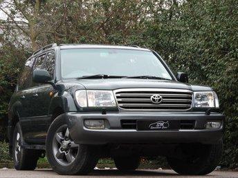 2004 TOYOTA LAND CRUISER 4.2 TD 5d AUTO 201 BHP £8490.00