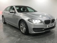 USED 2014 11 BMW 5 SERIES 2.0 520D SE 4d AUTO 181 BHP (PRIVATE PLATE AL11 XHK INCLUDED)  TRULY AND TOTALLY UNMARKED CONDITION THROUGHOUT