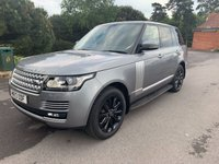 USED 2013 13 LAND ROVER RANGE ROVER 4.4 SDV8 VOGUE SE 5d AUTO 339 BHP HSE, PAN ROOF, MERIDIAN AUDIO,TV, HEATED AND COOLED SEATS!!