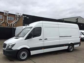 2017 MERCEDES-BENZ SPRINTER 2.1 314CDI LWB HIGH ROOF 140 BHP. AIRCON. EURO 6. WARRANTY. £13790.00