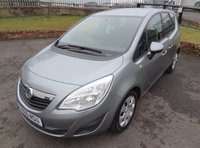 USED 2010 60 VAUXHALL MERIVA 1.4 EXCLUSIV 5d 98 BHP 3 Months National Warranty - 1 Years MOT for New Owner