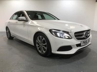 USED 2016 16 MERCEDES-BENZ C CLASS 2.1 C220 D SPORT 4d AUTO 170 BHP BUILT-IN COLOUR SAT NAV-DASH CAM INCLUDED-LEATHER HEATED FRONT SEATS