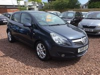 USED 2010 10 VAUXHALL CORSA 1.2 SXI 5d 83 BHP AVAILABLE AT OUR HADDINGTON BRANCH