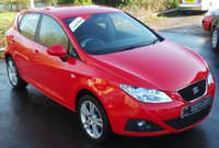 USED 2009 09 SEAT IBIZA 1.4 SPORT 5d 85 BHP 2 Owners - Low Miles - 9 Service Stamps