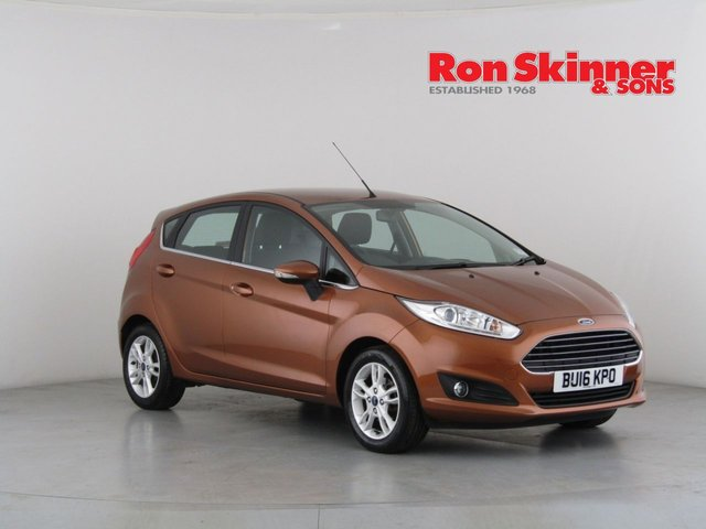 View our 2016 16 FORD FIESTA 1.0 ZETEC 5d 99 BHP