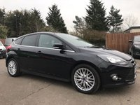 USED 2013 13 FORD FOCUS 1.6 TDCI ZETEC 5d WITH APPEARANCE PACK, PRIVACY GLASS, ALLOYS NO DEPOSIT HP FINANCE ARRANGED, APPLY HERE NOW