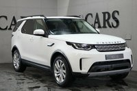 USED 2018 18 LAND ROVER DISCOVERY Discovery HSE SD4 AUTO Black Perforated Full Leather Heated Electric Memory Seats + White Piping + Piano Black Inlays, HDD Satellite Navigation + Bluetooth Connectivity + DAB Radio, Electric Sunroof, Front and Rear Park Distance Control + Reverse Camera, Remote Power Tailgate, Leather Multi Function Steering Wheel, Adaptive Cruise Control, 20 Inch Alloy Wheels, Digital Dual Zone Climate Control, Privacy Glass.