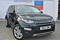 USED 2015 15 LAND ROVER DISCOVERY SPORT 2.2 SD4 HSE LUXURY 5d Family 7 Seat 4x4 SUV AUTO Totally Stunning in Rare Aintree Green Heated Leather Seats Sat Nav Panoramic Glass Roof Rear Camera Powered Tailgate and much more spec FANTASTIC LUXURY FAMILY SUV