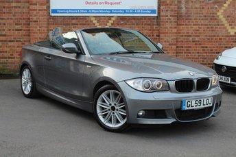 2009 BMW 1 SERIES 2.0 120D M SPORT 2d AUTO 175 BHP £5995.00