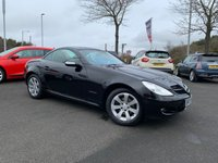 USED 2007 07 MERCEDES-BENZ SLK 1.8 SLK200 KOMPRESSOR 2d AUTO 161 BHP FULL SERVICE HISTORY, FULL LEATHER, PARKING SENSORS, ALLOYS, REMOTE CENTRAL LOCKING,  CD, AIR CON