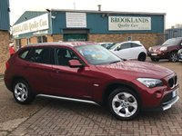 2011 BMW X1 2.0 XDRIVE20D SE Vermillion Red Metallic AUTO 174 BHP £8995.00
