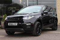 2016 LAND ROVER DISCOVERY SPORT 2.0 TD4 HSE BLACK 5d 180 BHP £28455.00