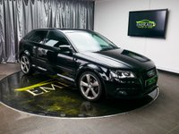 USED 2011 61 AUDI A3 2.0 TDI S LINE SE 3d 168 BHP £0 DEPOSIT FINANCE AVAILABLE, AIR CONDITIONING, AUX INPUT, BOSE SOUND SYSTEM, CLIMATE CONTROL, CRUISE CONTROL, DAYTIME RUNNING LIGHTS, FLAT BOTTOM STEERING WHEEL, FULL S LINE LEATHER UPHOLSTERY, PRIVACY GLASS, STEERING WHEEL CONTROLS, TRIP COMPUTER