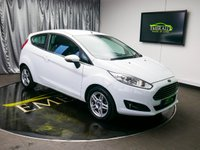USED 2013 63 FORD FIESTA 1.0 ZETEC 3d 99 BHP £0 DEPOSIT FINANCE AVAILABLE, AIR CONDITIONING, AUX INPUT, BLUETOOTH CONNECTIVITY, CLIMATE CONTROL, DAYTIME RUNNING LIGHTS, FORD SYNC WITH VOICE CONTROL, QUICK CLEAR HEATED WINDSCREEN, START/STOP SYSTEM, STEERING WHEEL CONTROLS, TRIP COMPUTER, USB INPUT