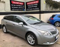 USED 2011 11 TOYOTA AVENSIS VALVEMATIC 1.8 TR 5DR AUTO 145 BHP ESTATE, SAT NAV, FSH EXTREMELY SPACIOUS & RELIABLE WITH REVERSE CAMERA