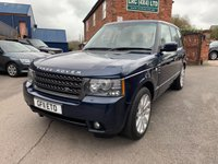 USED 2011 11 LAND ROVER RANGE ROVER 4.4 TDV8 VOGUE 5d 313 BHP Great Value Range Rover 4.4